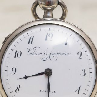 Vacheron Constantin Repetition 1820s Verge Fusee Antique Repeating Pocket Watch