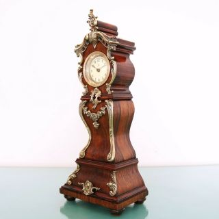 JUNGHANS PFEILKREUZ Mantel Clock Antique BABY MINI Grandfathers EXTREMELY RARE 7