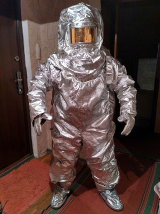 Vintage Rare Chernobyl Fire - Radiation Protective Suit