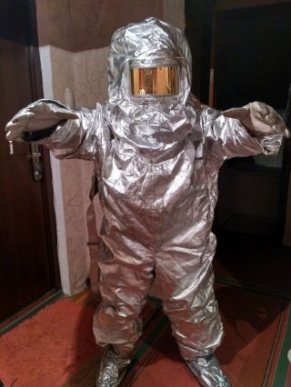 Vintage Rare Chernobyl Fire - radiation protective suit 2