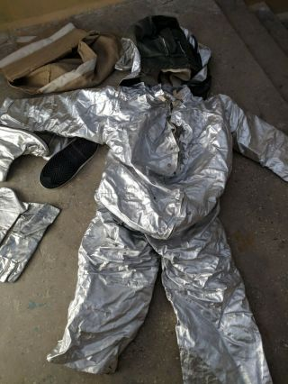 Vintage Rare Chernobyl Fire - radiation protective suit 4