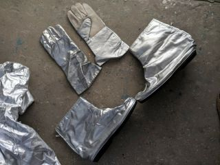 Vintage Rare Chernobyl Fire - radiation protective suit 5