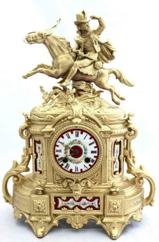 Antique Mantle Clock French 1880