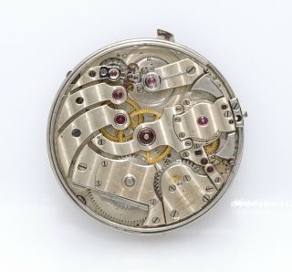 Very Rare 43mm Patek Philippe One Minute Repeater Movement Needs Help