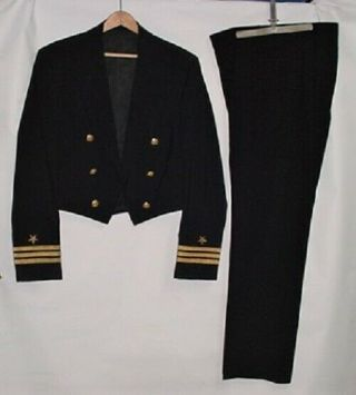 U.  S.  Navy Officer Dinner Dress (blue) Uniform