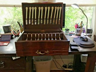 60 Pc.  Reed & Barton Sterling Silver 18th Eighteenth Century Set 12 Place Set