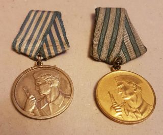 Yugoslavia - Medal For Bravery - Russian Type,  Extra Rare Model In Silver Color