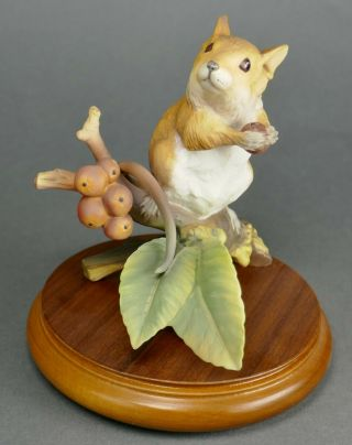 Fine Vtg German Bisque Porcelain Hutschenreuther G.  Granget Mouse Sculpture