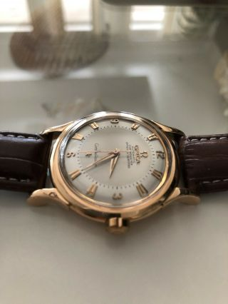 Omega Constellation Automatic 18k Solid Rose Gold Cal.  354 Red.  2782 2799 Sc