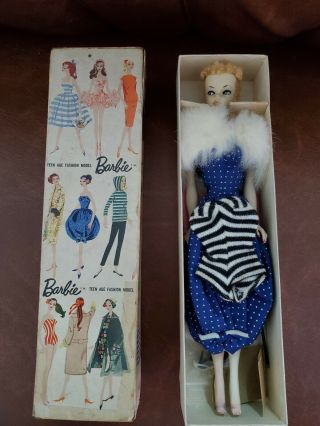 1959 1 Barbie Blonde Ponytail