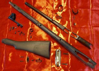 Lee Enfield Smle No1 Mk3 Nos Stock Set And Hardware