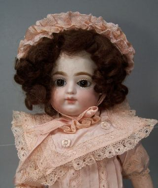 Antique 13 1/2 inch Block Letter F.  Gaultier French Doll 2