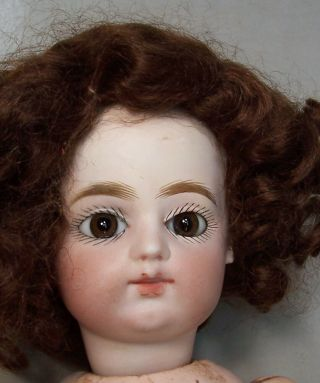 Antique 13 1/2 inch Block Letter F.  Gaultier French Doll 4