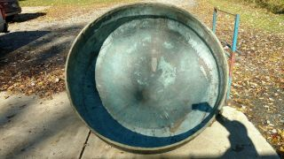 Antique Copper Kettle Cheese Vat,  Fountain - 64