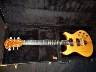 Rare Vintage 1978 Ibanez Musician Mc550wn Natural Electric Guitar In Hard Case