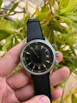 Extrimly Rare 1968 Jaeger Lecoultre Polaris E859 Memovox 42mm Men