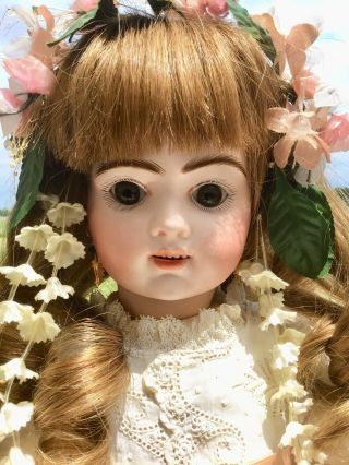 French Antique Doll Bru Jne R 8 Doll Antique Clothes And Shoes Apx 19 Inch 2