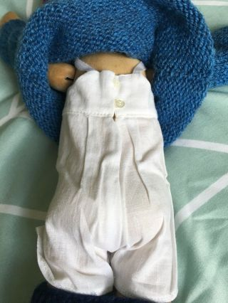 RELISTED: Handcrafted wooden doll by Elisabeth Pongratz 10
