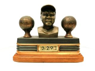 Vintage Art Deco Babe Ruth York Yankees Baseball Antique Digital Old Clock