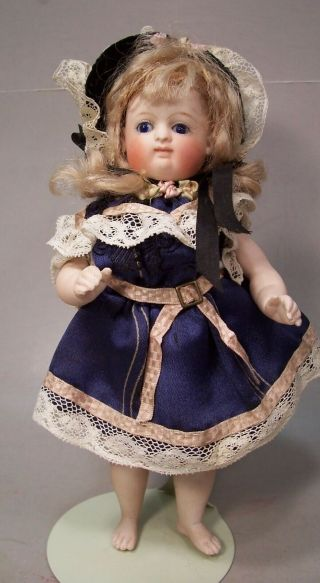 Gorgeous 7 inch Kestner Antique All Bisque German Doll