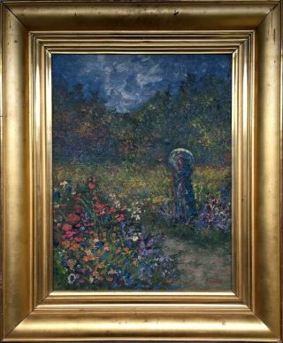 Renoir Signed Antique Oil / Canvas Painting French?