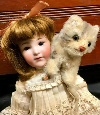 "Rare 400 Teen Character 12 "" Cabinet Doll Armand Marseille Antique Closed Mouth"