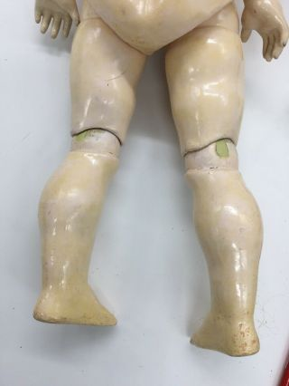 Antique Germany Bisque Head Doll Composition Body Jointed 20