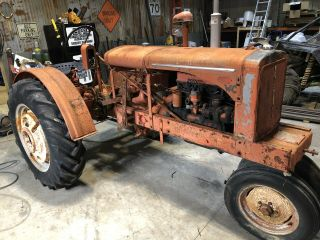 Allis Chalmers Wc Antique Tractor Farmall Oliver Deere A B G H D Wd 45