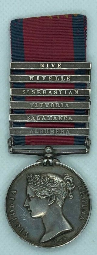 Military General Service Medal King