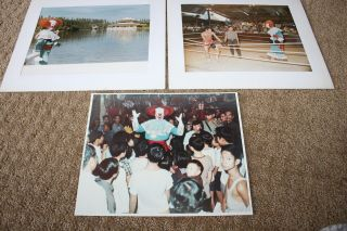 Vintage Larry Harmon Pictures Vintage Bozo The Clown Personally Owned Photos 3