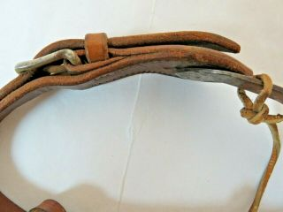 RARE Vintage Antique Western Spurs from Ranch Located in Kansas Founded in 1888 8