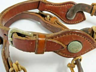 RARE Vintage Antique Western Spurs from Ranch Located in Kansas Founded in 1888 9