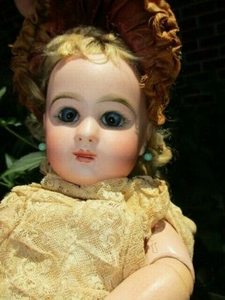 "Rare 13 "" Desirable Antique French Doll Marked "" Depose Tete Jumeau Bete 5 "" Sgdg """