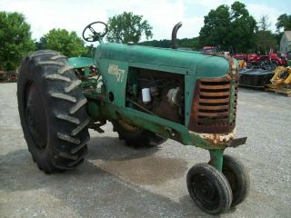 Oliver 77 Antique Pulling Tractor,  Runs Good,  SELLS 2
