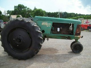 Oliver 77 Antique Pulling Tractor,  Runs Good,  SELLS 3
