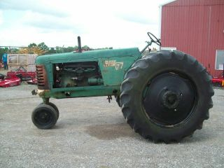 Oliver 77 Antique Pulling Tractor,  Runs Good,  SELLS 4