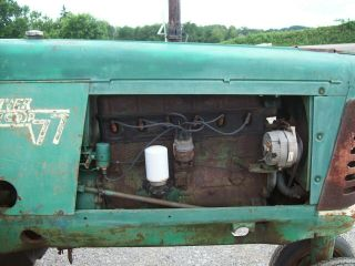Oliver 77 Antique Pulling Tractor,  Runs Good,  SELLS 7