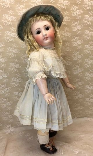 "Antique 22"" Sonneberg For French Market Bisque Doll 4"