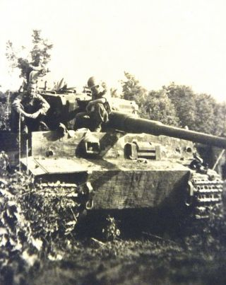 Captured German Mk Vi Tiger I Tank From Spzabt.  504 In Italy.