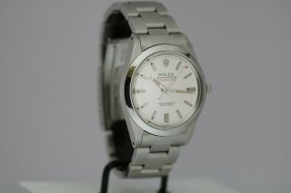 Vintage Rolex Milgauss Automatic Silver Dial Watch Ref 1019 Circa 1960s 5