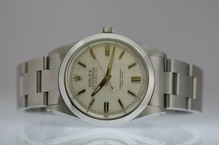 Vintage Rolex Milgauss Automatic Silver Dial Watch Ref 1019 Circa 1960s 6