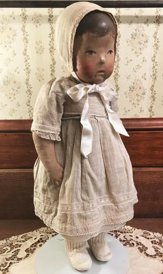 Authentic Antique Kathe Kruse Doll No.  1,  Clothing,  Wonderful