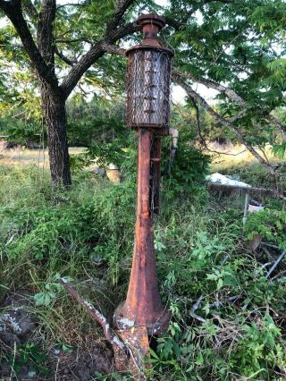 Antique 1915 5 gal.  Model 17 Fry Mae West Visible Gas Pump 2