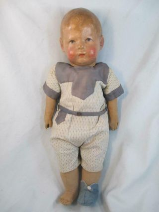 Antique KATHE KRUSE Doll Slant Wide Hip 1st Model 16