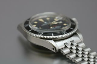 "Rolex Submariner 1680 ""Red Sub"" Vintage Automatic Dive Watch Circa 1970s 6"