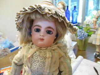 "Rare 14 "" Charming Antique French Francois Gaultier Doll Marked Head "" Fg 4 """