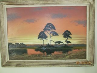 The Florida Highwaymen - Alfred Hair 1941 - 1970 Last Great American Art Movement