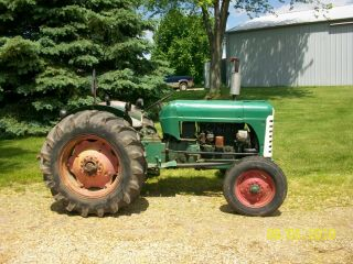 1957 Oliver 55 Antique Tractor farmall allis deere 44 66 77 88 3