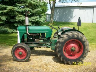 1957 Oliver 55 Antique Tractor farmall allis deere 44 66 77 88 4