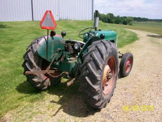 1957 Oliver 55 Antique Tractor farmall allis deere 44 66 77 88 5